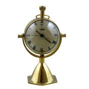 Decorative Desk & Shelf Clocks Vintage Style, 12cm for Office, Home & Kitchen