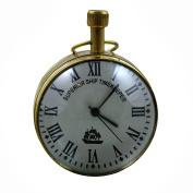 Superior Ship Timekeeper Desk & Shelf Clocks Vintage Style, 6.9cm for Office, Home & Kitchen