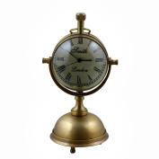 Decorative Smith Desk & Shelf Clocks Vintage Style, 14cm for Office, Home & Kitchen