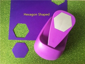 big hexagon shaped save power paper/eva craft punch Scrapbook Handmade punchers DIY hole punches graph puncher by Sopeace
