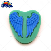 Diyclan Angel wings silicone fondant cake moulds Chocolate chip mould cake tools kitchen baking resin moulds F0243CB35[F0243CB]
