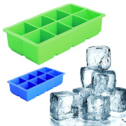 BCHZ 1PC Ice Cube Moulds Silicone Large Drink Pudding Jelly Soap Trays Moulds Mould DIY Tool