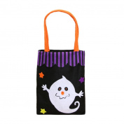 Vmree Halloween Cute Witches Candy Bag Packaging Children Party Storage Pouch Bag Gift Holder