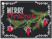 Chalkboard Wishes Theme Gift Cards 9.5cm x 7cm Christmas Tags