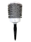 iBeauty 80mm Ceramic Ionic Tourmaline Styling Curling Hair Brush #1900 Made in Korea