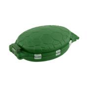 Sedeta 12 Compartments Tortoise Shape Plastic Turtle Fishing Lure Hooks Tackle Box Storage Case tackle boxes tackle box