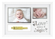 """MCS """"Love at First Sight"""" Baby Hospital ID Bracelet and Photo Frame"""