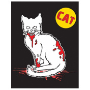 Cat Zombie Family Cling