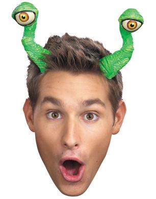 Close Encounter Alien Bug Green Eye Tentacles Elastic Headband