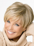 Tonake 0081 . New Blonde Short Slight Wavy Hair Wig Heat Resistant for Women Lady