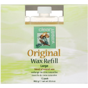 Clean & Easy Original Wax Refill Large 12 pack