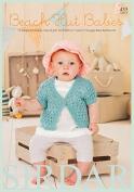 Sirdar Beach Hut Babies 435 Knitting Pattern Book DK