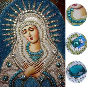 Susada Religious DIY 5D Diamond Embroidery Painting Rhinestone Cross Stitch Decoration