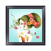 Susada 5D Fashion Lady Diamond Embroidery Painting Cross Stitch DIY Craft Decor Gift
