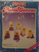 Distlefink Designs Plastic Canvas - Baby Chick Egg Cups - Set of 6