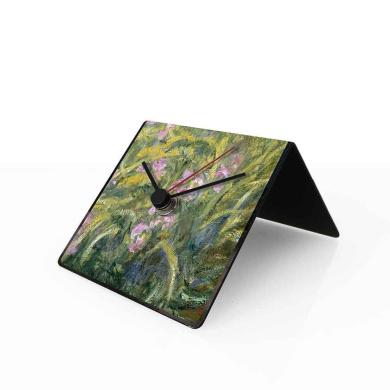 designobject Table Clock Perpetual Calendar Art Monet 10 X 10 X 10 cm