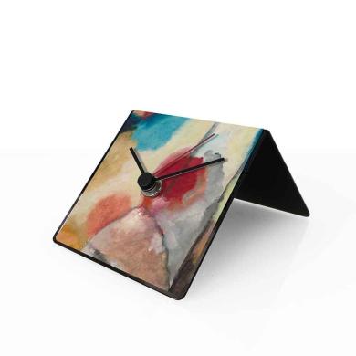 designobject Table Clock Perpetual Calendar Kandinsky 10 x 10 x 10 cm