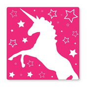 PINK UNICORN- UK LIGHT SWITCH STICKERS, CHILDS BEDROOM NURSERY DECORATING