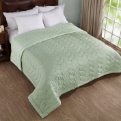 Home Elements Reversible Down Alternative Quilted Blanket, Queen Size