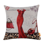 LINKWELL Lady Love Animal Print Style Series Cushion Cover Pillow Case