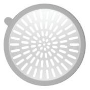 InterDesign Metro Ultra Shower Stall Drain Protector - Grey/Silver