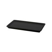 Elite Global Solutions M1581-B Venetian Black Rectangular Tray