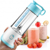 Idoker Portable Blender and Juicer Bottle, Great Travelling, Shopping and Outside Sports, Mini Personal Blender, Making a Protein Shake, Smoothie, Lemon Juice, Orange Juice, Vegetable