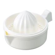 Arbour Home MXY Japanese Hand Juicer Plastic Lemon Lime Oranges Squeezer With Bowl White Colour