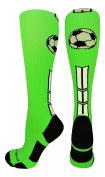 MadSportsStuff Soccer Ball Logo Over the Calf Socks