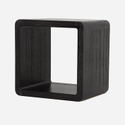 ZEMIN Solid Wooden Small Square Stool Cute Child Dining Living Room Study, 2 Colours, 3 Sizes Available