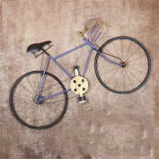 TRRE@ Retro Iron Art Bicycle Wall Hanging Personality Living Room Bar Restaurant Wall Decorations 122*69CM Shelf Accessories