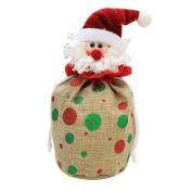 Christmas Gift Bag,Christmas Candy Bags,Portable Santa Apple Gift Wrapping Christmas Ornaments with Handle for Wedding Party Home Decor,Tuscom