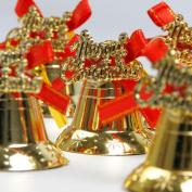 Christmas Tree Bells Decoration, Jingle Bells Ornament Holiday Gift Party Xmas Pendant ,Tuscom
