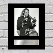 Glen Campbell Signed Mounted Photo Display