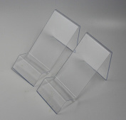 CHENGYIDA 5-Pack of Clear Acrylic Cell Phone Display Holder Stands