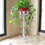 Iron flower stand single floor floor style flower stand green plant display stand