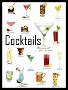 COCKTAILS RETRO METAL TIN WALL PLAQUE/SIGN NOVELTY GIFT