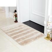 Microfiber pad/hall non-slip suction bath mat/door mats-H 50x80cm