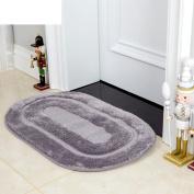 Microfiber pad/hall non-slip suction bath mat/door mats-D 50x80cm