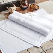 Cotton padded bathroom mat/bathroom door suction mat/non-slip towels-A 75x50cm