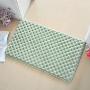 Bathroom water-absorption anti-skid mat/bathroom mats/coral fleece mat-A 60x90cm