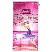 Angelina Ballerina Terry Bath Towel, 20X40