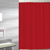 BH Home Mildew-Free Polyester Fabric Water Repellent Shower Curtain Liner