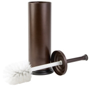 Richards Homewares Premium Quality Toilet Brush with Toilet Brush Holder Set - Superior Quality Bathroom Cleaning Brush with Matching Stand