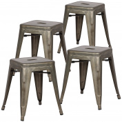 Poly and Bark Trattoria 46cm Stool in Bronze