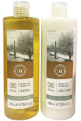 Baronessa Cali Oro D'Oliva Shampoo and Conditioner with Organic Olive Tree Leaves Extract