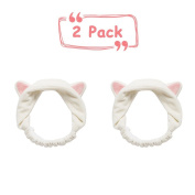 Head band, 2pcs Adorell Beauty Hair band Tool Lovely Cat Ears Headbands for Girls