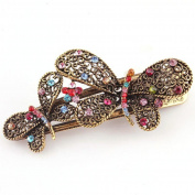 Hair Pin,WuyiMC Women's Vintage Double Butterfly Hair Clip Hair Grip Beauty Tools Jewellery Headwear Lady Hair Accessories