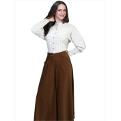 Scully RW503-BRN-XS Rangewear 100 Percent Polyester Womens Charlotte Suede Riding Skirt - Brown, XS