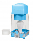 Nostalgia IS2BL Shaved Ice Snow Cone Machine, Blue